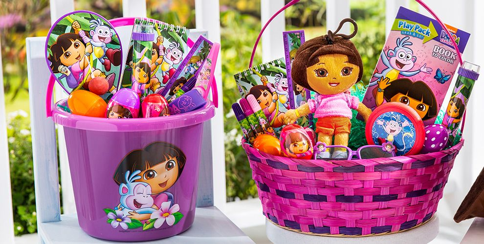 Build Your Own Dora Easter Basket