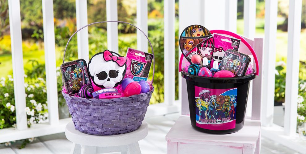 Build Your Own Monster High Easter Basket