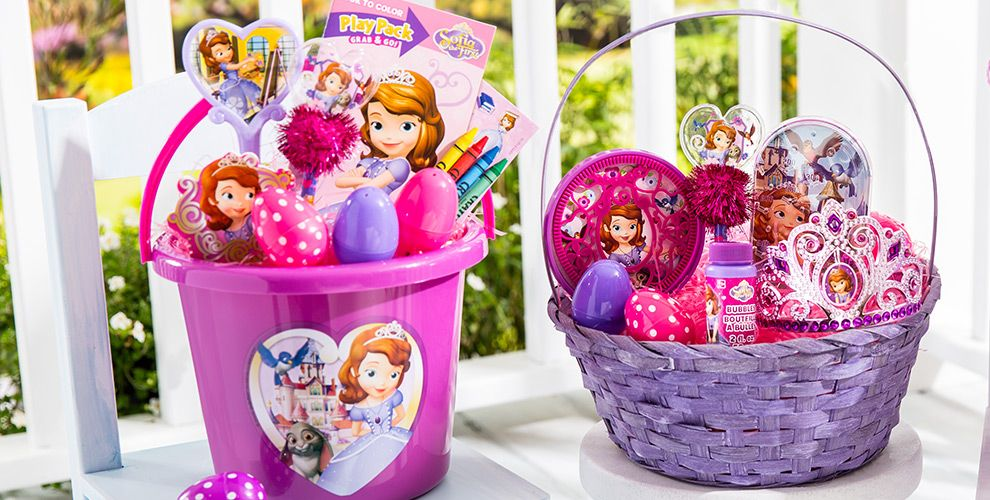 Build Your Own Sofia the First Easter Basket