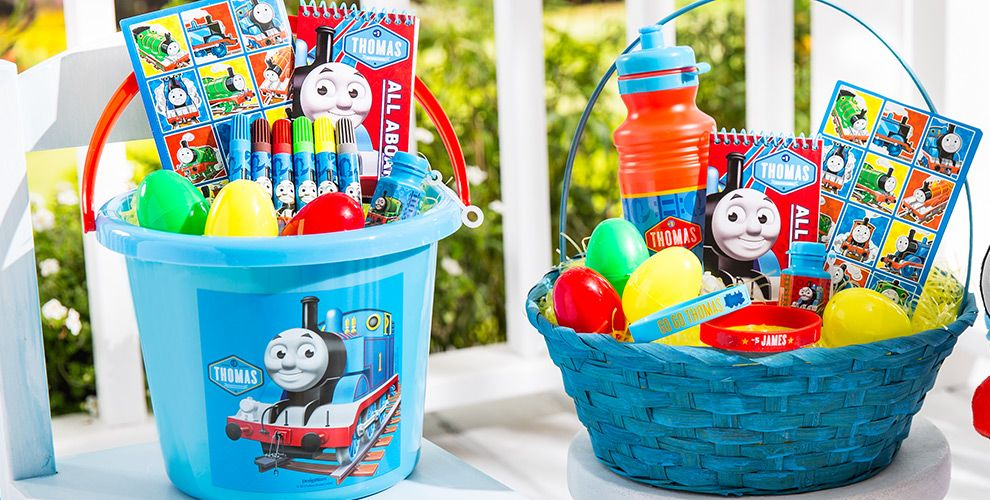 Build your own thomas the tank engine easter basket party city build your own thomas the tank engine easter basket negle Image collections