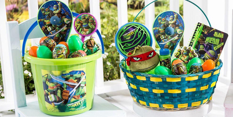 Build Your Own Teenage Mutant Ninja Turtles Easter Basket