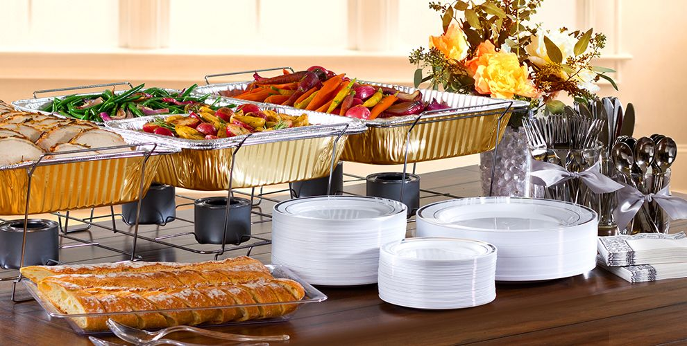 Chafing Dishes & Aluminum Pans