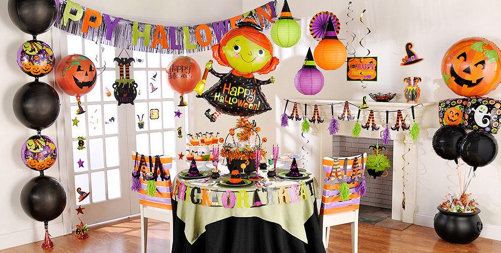 witchs crew halloween party supplies - Halloween Theme Party Ideas