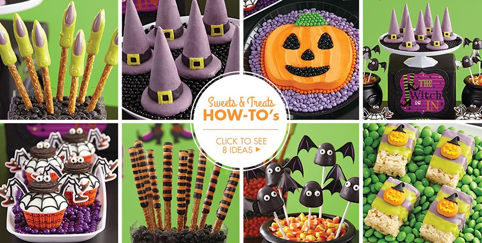 Witch's Crew Sweets & Treats – Party Ideas