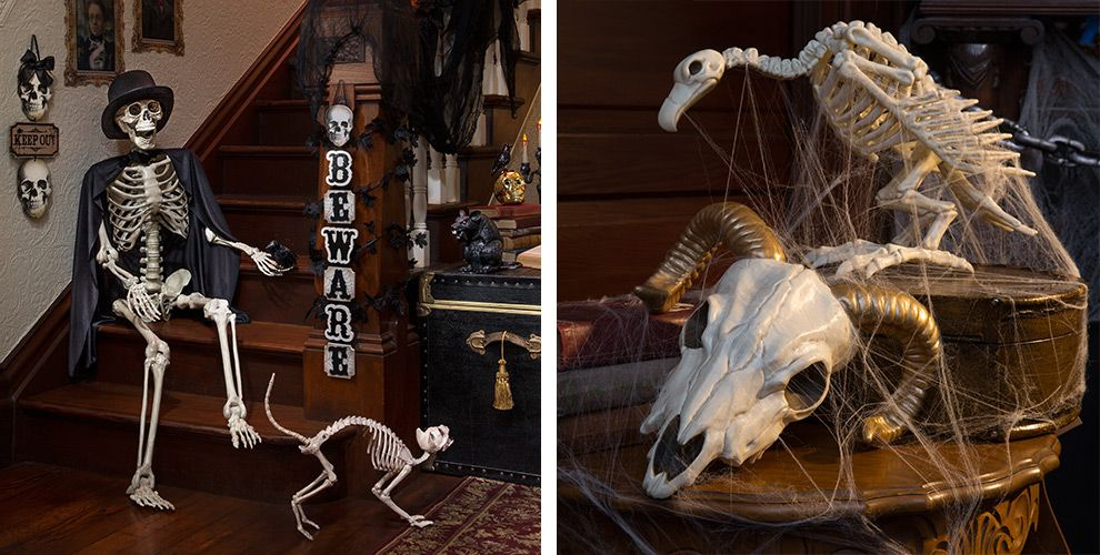 skeletons skeletons skulls halloween decorations - Halloween Decorations Clearance