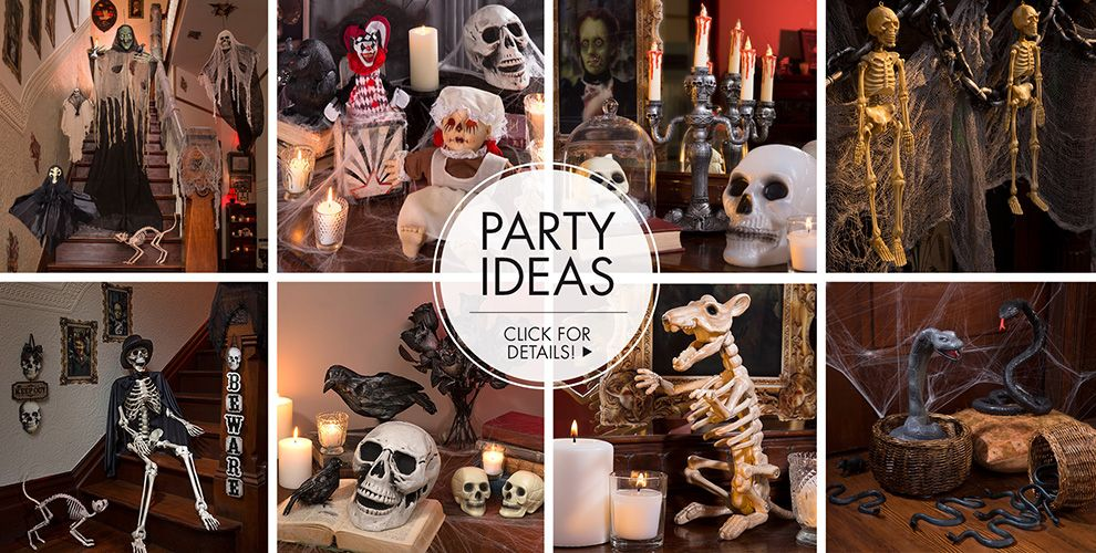 Haunted House Indoor Decorations – Party Ideas