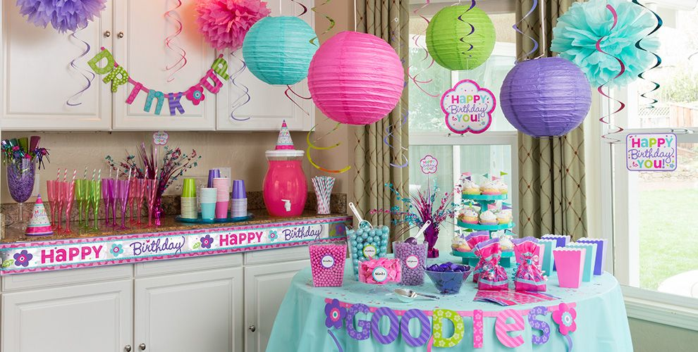 Pastel birthday party supplies party city canada for Home alone theme decorations