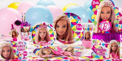 Barbie Party Supplies Barbie Birthday Party City