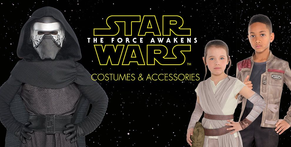 Star Wars Party Supplies - The Force Awakens Shop Costumes and Accessories