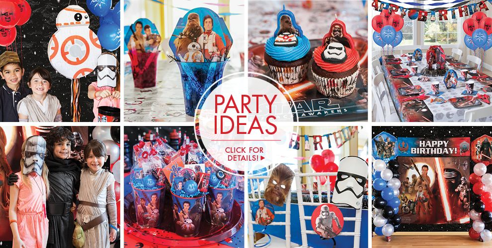 Star Wars The Force Awakens Party Supplies – Party Ideas!