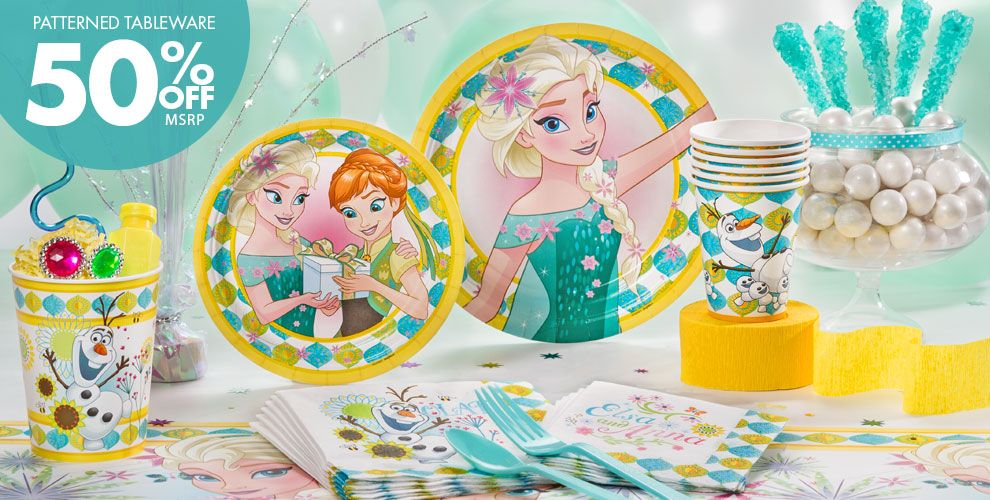 Frozen Fever Party Supplies Frozen Fever Birthday