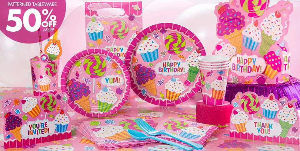 Candy Shoppe Party Supplies
