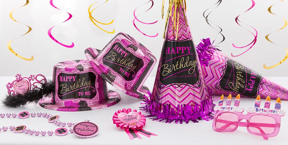 Damask Birthday Party Supplies #4