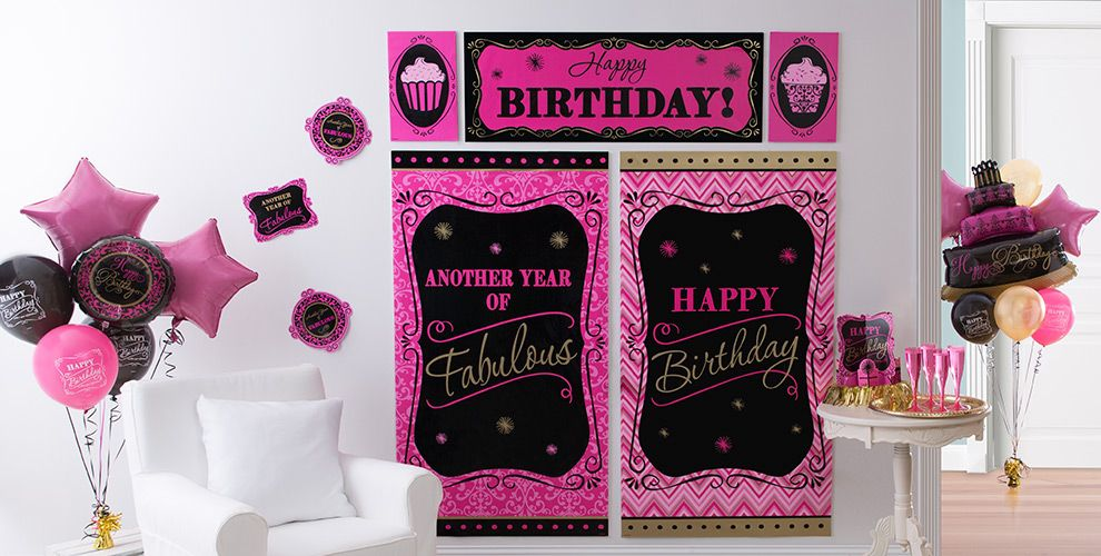 Damask Birthday Party Supplies #5