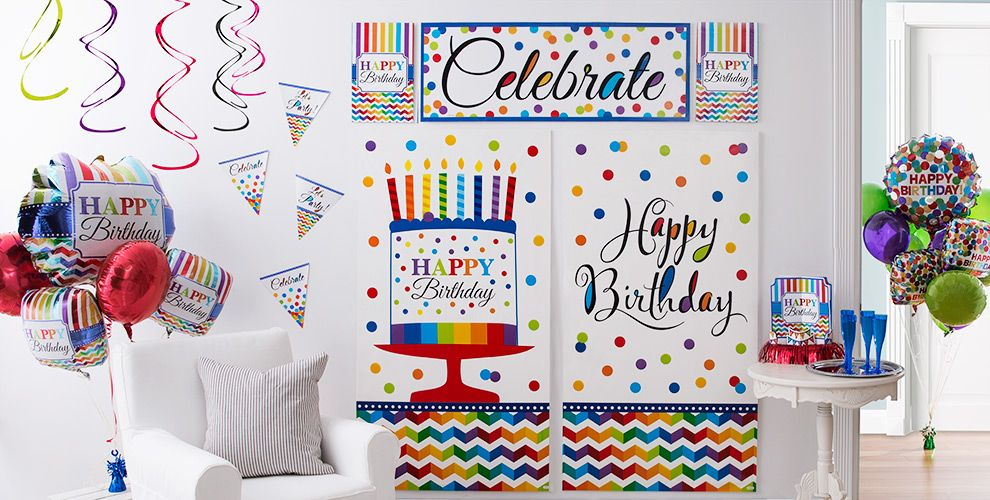 Bright Dot Birthday Party Supplies #5