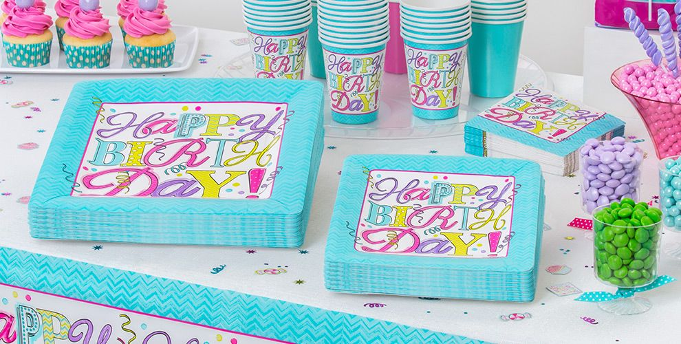 Sweet Birthday Party Supplies #2