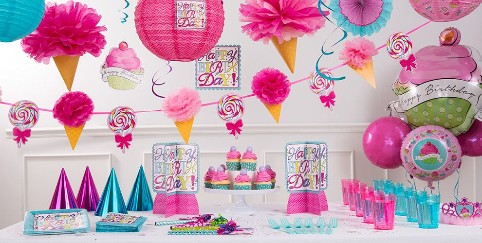 Sweet Birthday Party Supplies #3