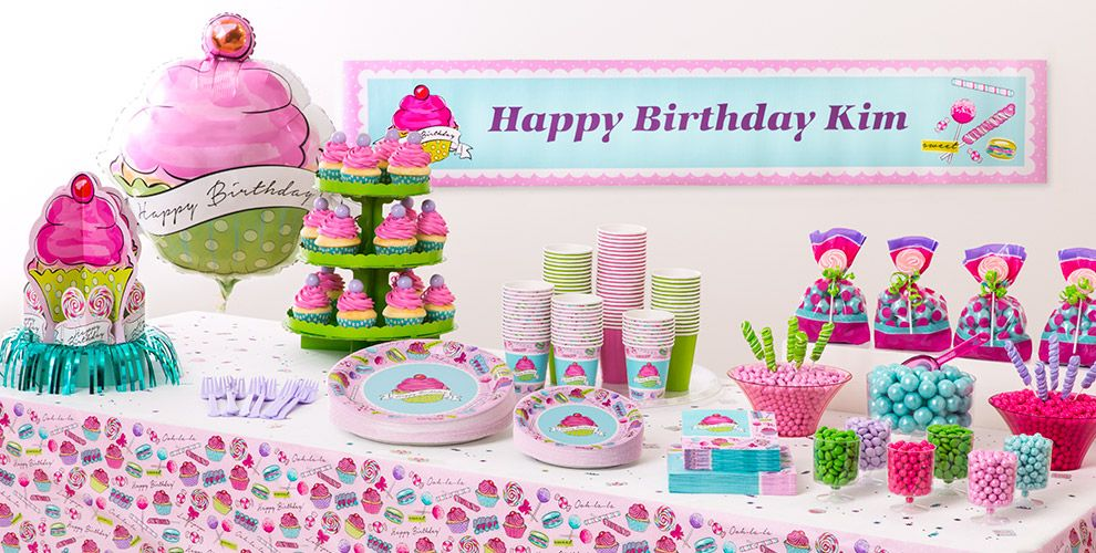 Birthday Sweets Party Supplies