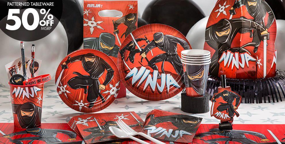 Ninja Party Supplies