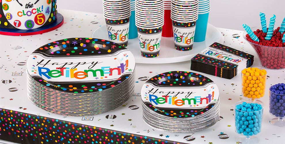 Happy Retirement Party Supplies Ideas