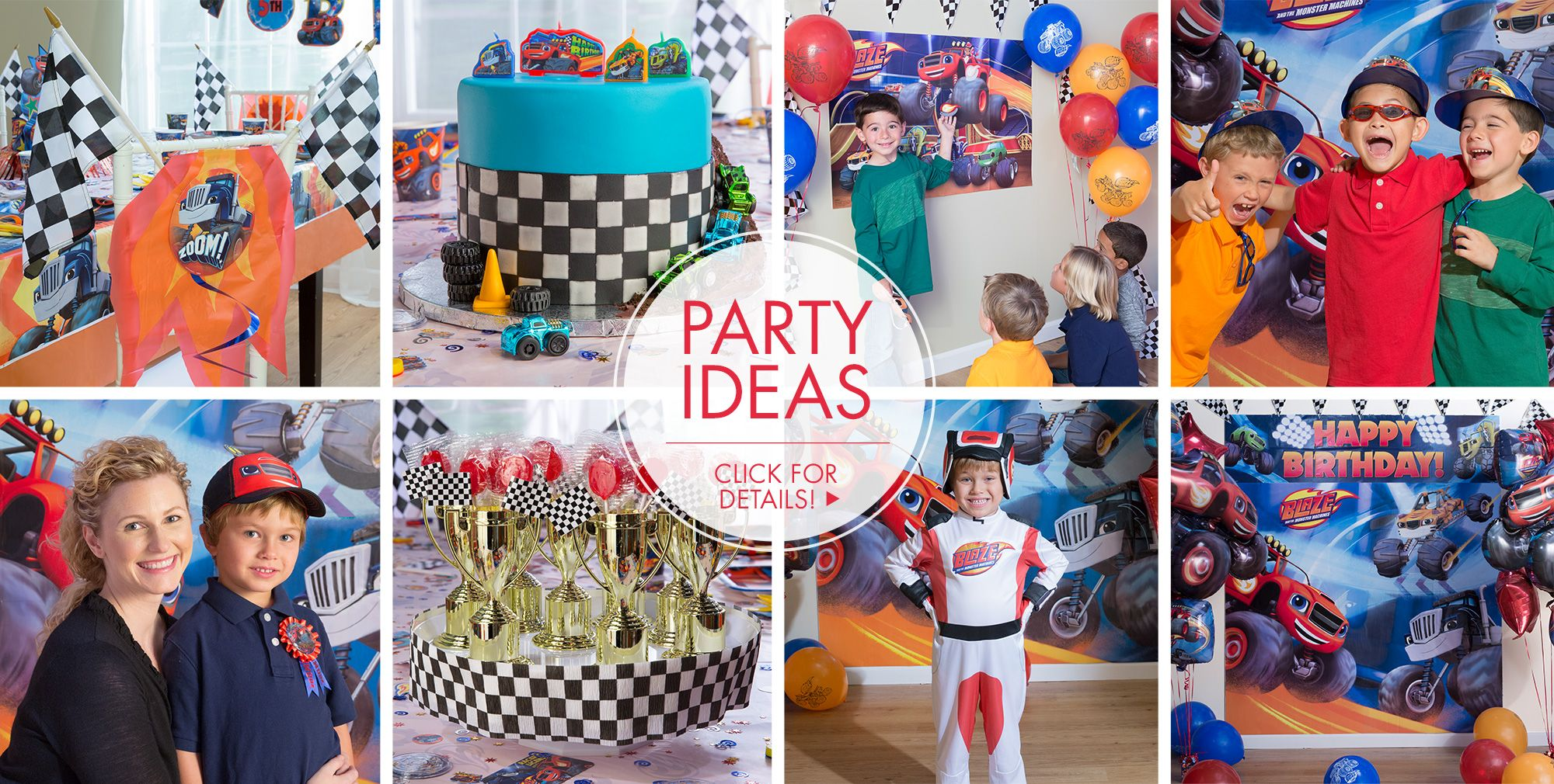Blaze – Party Ideas