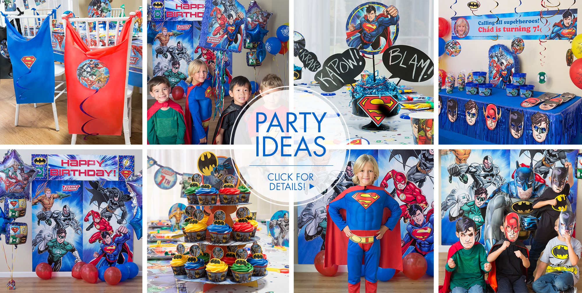 Justice League – Party Ideas