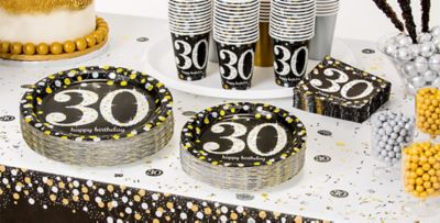Sparkling Celebration 30th Birthday Party Supplies Party City