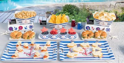 Lovely ... Nautical Party Supplies ...