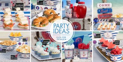 Nautical Themed Birthday Party Supplies Part - 24: ... Nautical Party Supplies; Nautical U2013 Party Ideas, Click For Details!