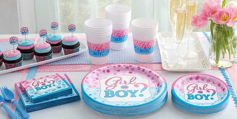Girl or Boy Gender Reveal Party Supplies