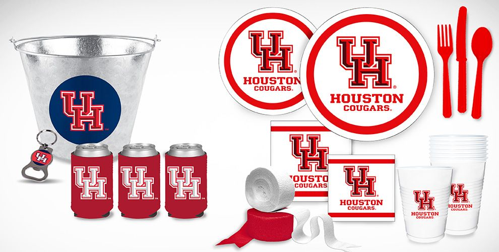 Houston Cougars Party Supplies