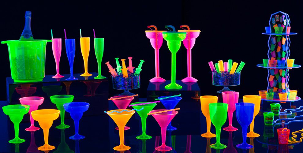 Summer Neon Party Supplies