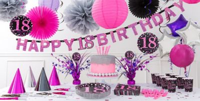 18th Birthday Decorations Purple Image Inspiration of Cake and