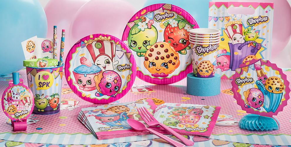 Shopkins Party Supplies Shopkins Birthday Party City