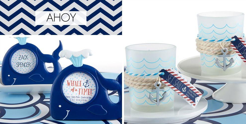 ahoy nautical baby shower party supplies  party city canada, Baby shower invitation