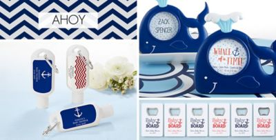 ... Ahoy Nautical Baby Shower Party Supplies. «»
