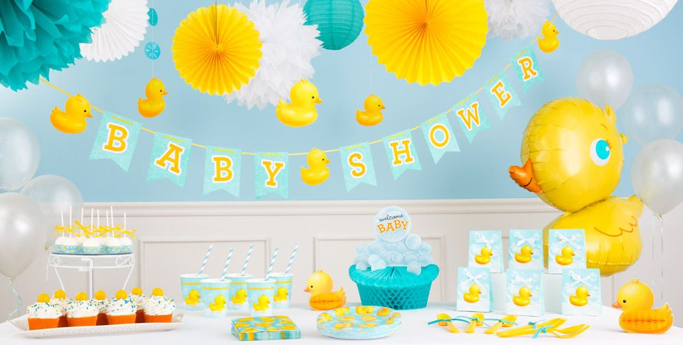 baby shower party supplies rubber ducky baby shower party city