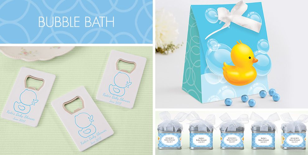 Bubble Bath Baby Shower Party Supplies