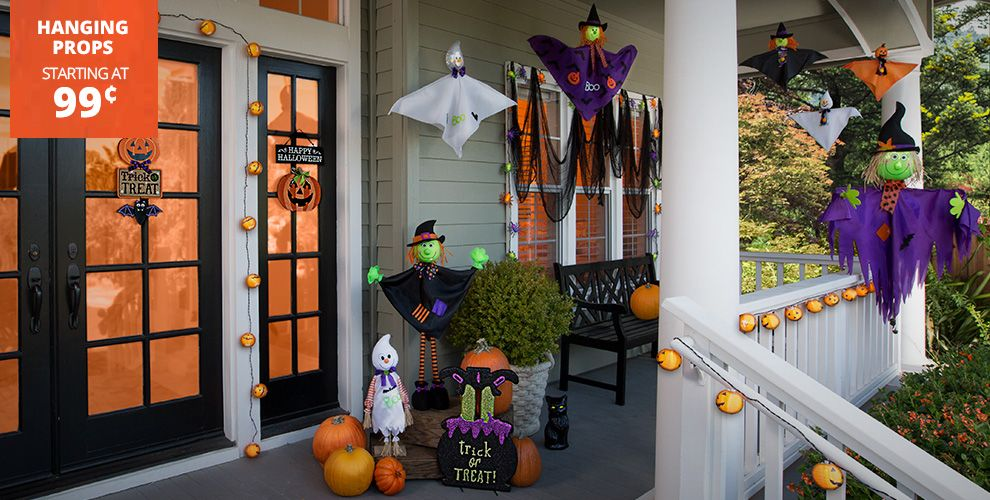 Kid-Friendly Halloween Decorations – Hanging Props Starting at 99¢