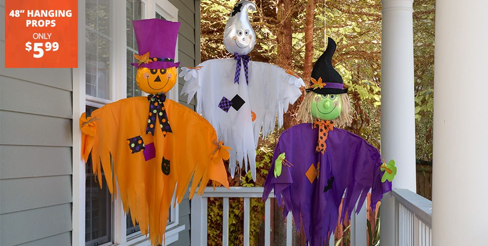 friendly outdoor halloween decorations party city