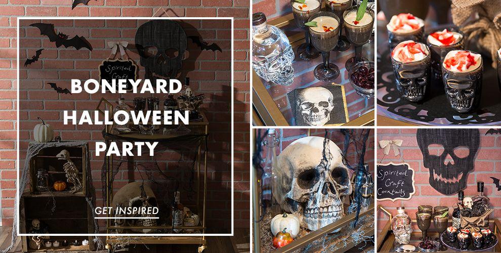 Boneyard Halloween Party Supplies – Party Ideas