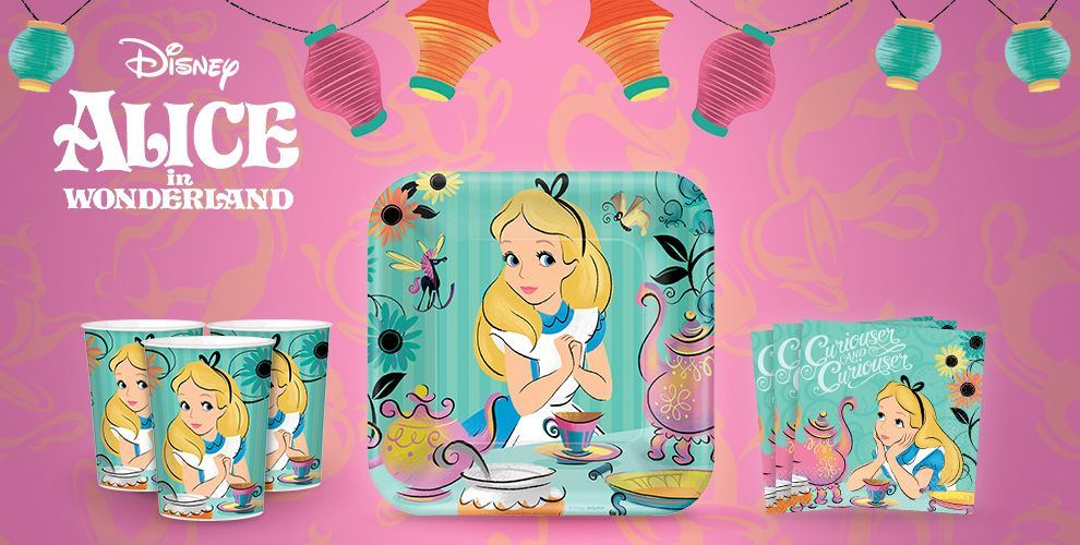 Alice in wonderland party supplies alice in wonderland - Alice in the wonderland party decorations ...