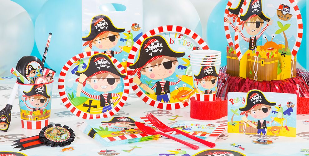 Little Pirate Party Supplies