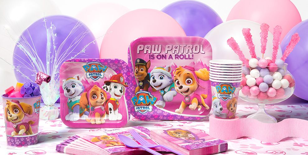 Pink PAW Patrol Party Supplies City