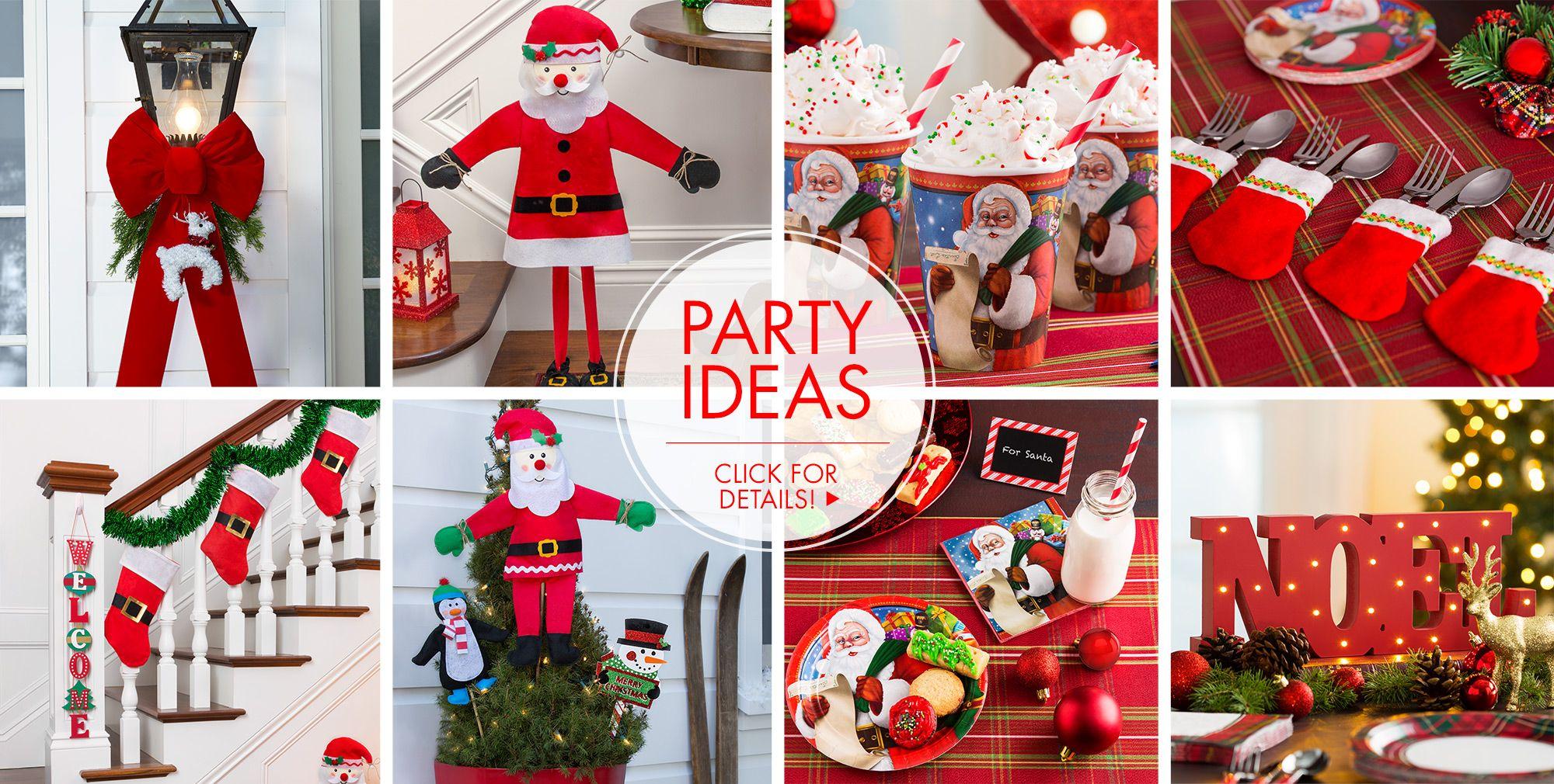 Santa Party Supplies – Party Ideas