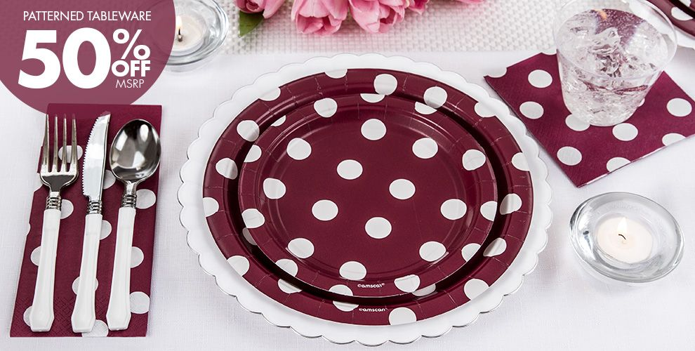 Berry Solid Color Tableware