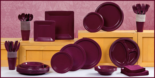 Solid Berry Tableware #1
