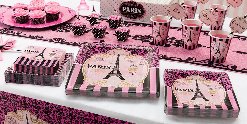 Day in Paris Theme Party