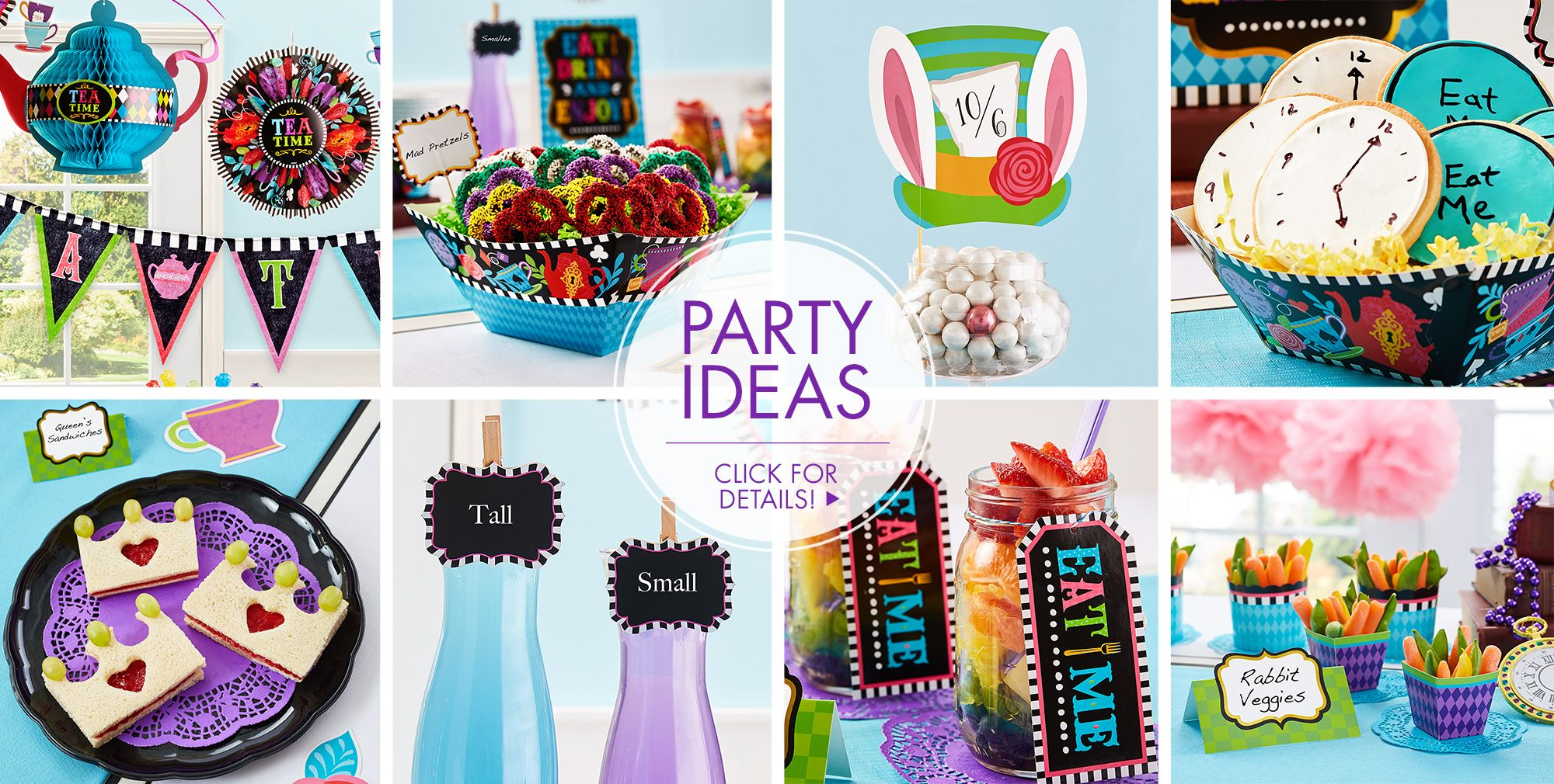 Mad hatter tea party decoration ideas -  Mad Hatter Theme Party