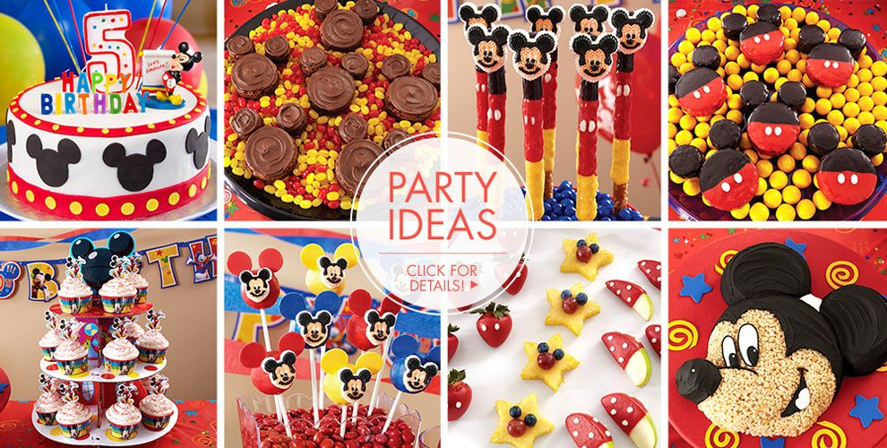 Mickey Mouse Cake Supplies #2